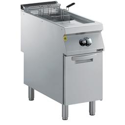 Gamma cottura modulare<br>EVO900 Friggitrice a gas 15 litri una vasca