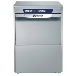 WarewashingUndercounter Dishwasher Insulated with pressure boiler drain pump, detergent dispenser, cold rinse