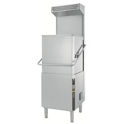 Warewashing<br>Hood Type Dishwasher, Single Skin with Rinse-aid Dispenser, ESD