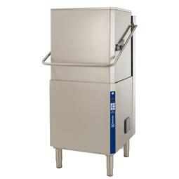 餐具洗涤揭盖式洗碗机,单层,手动提拉,大气恒压锅炉,80篮筐/小时