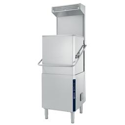 餐具洗涤揭盖式洗碗机,单层,手动提拉,大气恒压锅炉,80篮筐/小时,50Hz,ESD