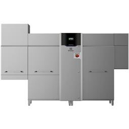 Warewashinggreen&clean multi-rinse Rack Type, Energy Saving Device, ZERO LIME, medium dryer,electric,150r/h,R>L