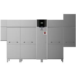 Warewashinggreen&clean multi-rinse Rack Type,Energy Saving Device,ZERO LIME,medium dryer,electric,200r/h,L>R
