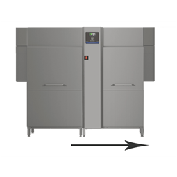 Astianpesugreen&clean dual rinse korikuljetinastianpesukone, ESD, 250 k/h