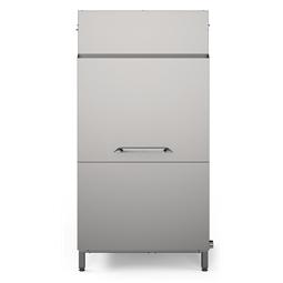 WarewashingLarge drying zone with door for dual rinse rack type dishwasher