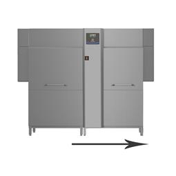 Warewashinggreen&clean dual rinse rack type, Energy Saving Device,ZERO LIME,Wash-Safe Control 250r/h, elec-50Hz