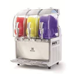 FrozenFrozen granita dispenser with 3 bowls, mechanical control