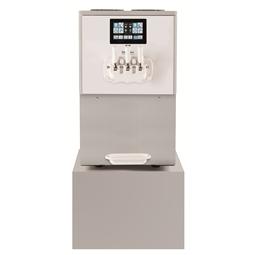 Soft ServedPortofino Soft Ice Cream Dispenser, 2 flavours+1mix, electr.control&touch panel, 600cones/h-pump