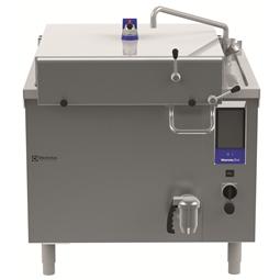 ThermalineElektro Rechteck-Druckkochkessel, 200lt für Hygienesockelaufstellung, freistehend