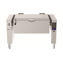 High Productivity CookingElectric Tilting Braising Pan, 45gal (170lt), Hygienic Profile, Freestanding with CTS