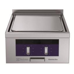 Modular Cooking Range Linethermaline 80 - 2 Zone Electric Solid Top, 1 Side with backsplash
