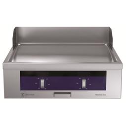 Modular Cooking Range Linethermaline 80 - Full Module Electric Fry Top, 1 Side with Backsplash