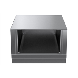 Modular Cooking Range Linethermaline 80 - 800 mm Open base, GN conform, 1 Side (H2) - H=450
