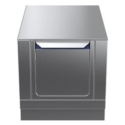 Modular Cooking Range Linethermaline 80 - 600 mm Passthrough base, 2 doors, GN conform, 2 Sides (H2) - H=450