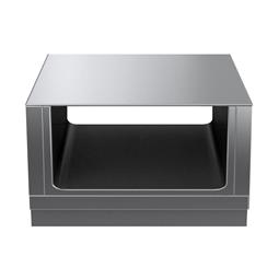 Modular Cooking Range Linethermaline 80 - 900 mm Passthrough open base, 2 Sides (H2) - H=450