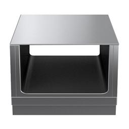 Modular Cooking Range Linethermaline 80 - 700 mm Passthrough open base, GN conform, 2 Sides (H2) - H=450