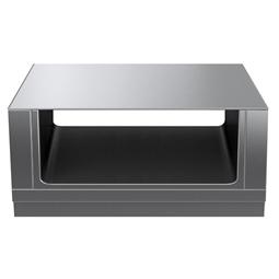 Modular Cooking Range Linethermaline 80 - 1200 mm Passthrough open base, 2 Sides (H2) - H=450