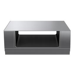 Modular Cooking Range Linethermaline 80 - 1500 mm Passthrough open base, 2 Sides (H2) - H=450