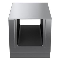 Modular Cooking Range Linethermaline 80 - 600 mm Passthrough open base, GN conform, 2 Sides (H2) - H=450