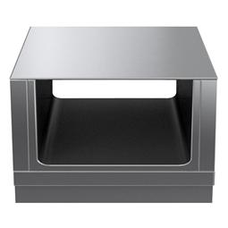Modular Cooking Range Linethermaline 80 - 800 mm Passthrough open base, GN conform, 2 Sides (H2) - H=450