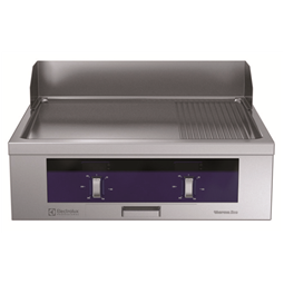 Modular Cooking Range Linethermaline 80 - Full Module Electric Fry Top with Mixed Plate, 1 Side