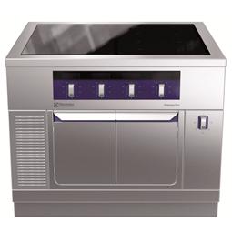 Modular Cooking<br>Hel häll induktion (zonfri) på värmeskåp 1000 mm, betjänas från 1 sida, kroppshöjd 700 mm