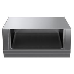 Modular Cooking Range Linethermaline 90 - 1200 mm Open base, 1 Side (H2) - H=450
