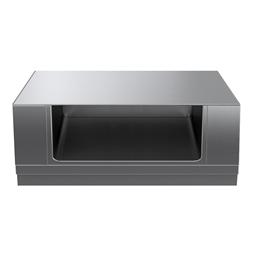 Modular Cooking Range Linethermaline 90 - 1500 mm Open base, 1 Side (H2) - H=450