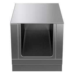 Modular Cooking Range Linethermaline 90 - 600 mm Open base, GN conform, 1 Side (H2) - H=450