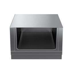 Modular Cooking Range Linethermaline 90 - 800 mm Open base, GN conform, 1 Side (H2) - H=450