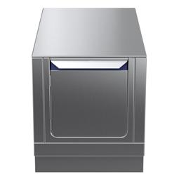 Modular Cooking Range Linethermaline 90 - 500 mm Passthrough base, 2 doors, GN conform, 2 Sides (H2) - H=450