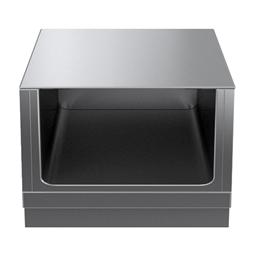 Modular Cooking Range Linethermaline 90 - 700 mm Open base, GN conform, 1 Side (H2) - H=450