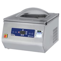 Confezionatrici SottovuotoConfezionatrice sottovuoto da banco gas inerte con stampante HACCP - 20 m³/h