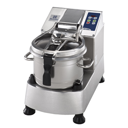 Food ProcessorStainless Steel Cutter Mixer - 11.5 LT - 2 Speeds with Microtoothed Blade, Bowl and Scraper