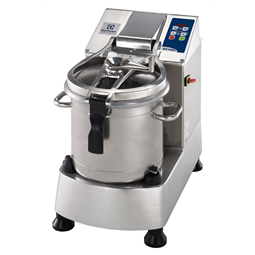 Food ProcessorStainless Steel Cutter Mixer - 17.5 LT - Variable Speed with Microtoothed Blade, Bowl and Scraper