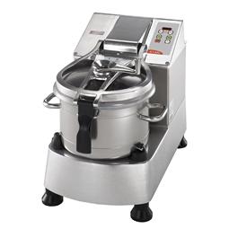 Cutter Mixer<br>Cutter mixer, vasca in INOX - 11.5 lt - 2 velocità, lama microdentata e raschiatore