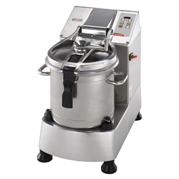 Food Processor<br>Stainless Steel Cutter Mixer - 17.5 LT - 2 Speeds with Microtoothed Blade, Bowl and Scraper