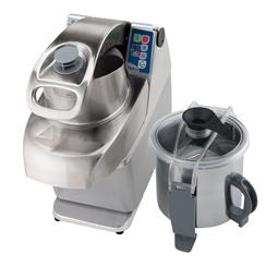 TagliaverdureCombinato cutter/emulsionatore/tagliaverdure, velocità variabile - 4,5 lt