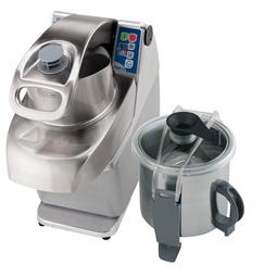 TagliaverdureCombinato cutter/emulsionatore/tagliaverdure, velocità variabile - 7 lt