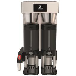 KaffesystemPB dubbelbryggare för två isolerade kaffebehållare med stativ