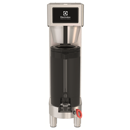 Coffee SystemPrecisionBrew, single with integrated base for vacuum shuttle with UK plug