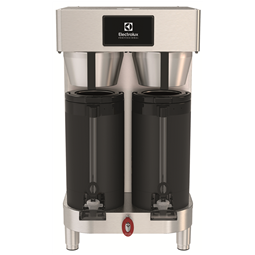 Coffee SystemPrecisionBrew, double with integrated base for vacuum shuttle with UK plug
