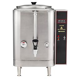 Bevande calde<br>Dispenser acqua calda, 37,8 l, acciaio inox