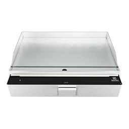LiberoProFry top XL induzione doppia zona, da banco, piastra liscia in acciaio inox, trifase