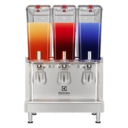 Simplicity BubblersChilled Beverage Dispensers 3x18 L, agitator model with locking lid
