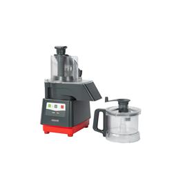 Tagliaverdure<br>Combinato cutter mixer/tagliaverdure con vasca in copoliestere trasparente (BPA-free) da 2,6 litri,