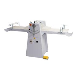 Deeguitrolmachines<br>Deeguitrolmachine, vloermodel, 1 snelheid, 500 mm brede opklapbare platen