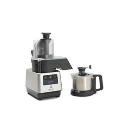 GroentesnijmachinesTrinityPro Groentesnijmachine/cutter-mixer, rvs kom 2,6 lt, variabele snelheid, 3 snijschijven