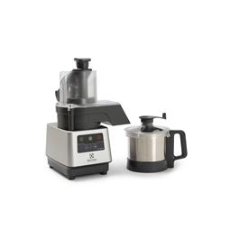 GroentesnijmachinesTrinityPro Groentesnijmachine/cutter-mixer, rvs kom 3,6 lt, variabele snelheid