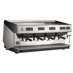 Sistema de caféCafetera espresso tradicional, 4 grupos, boiler de 21,9 litros